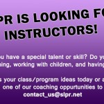 Teach a class with SLPR!