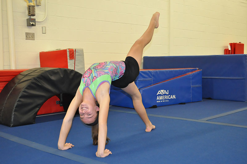 Gymnastics Walkover