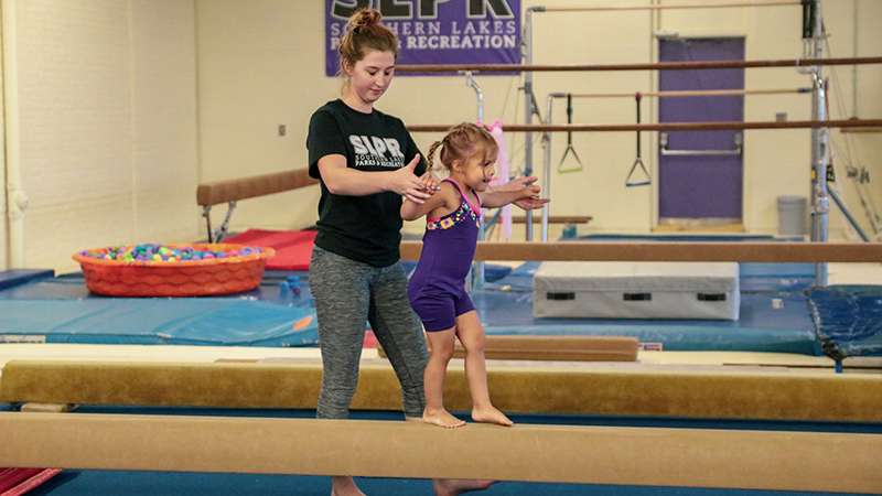 Gymnastics Southern Lakes Parks Recreation
