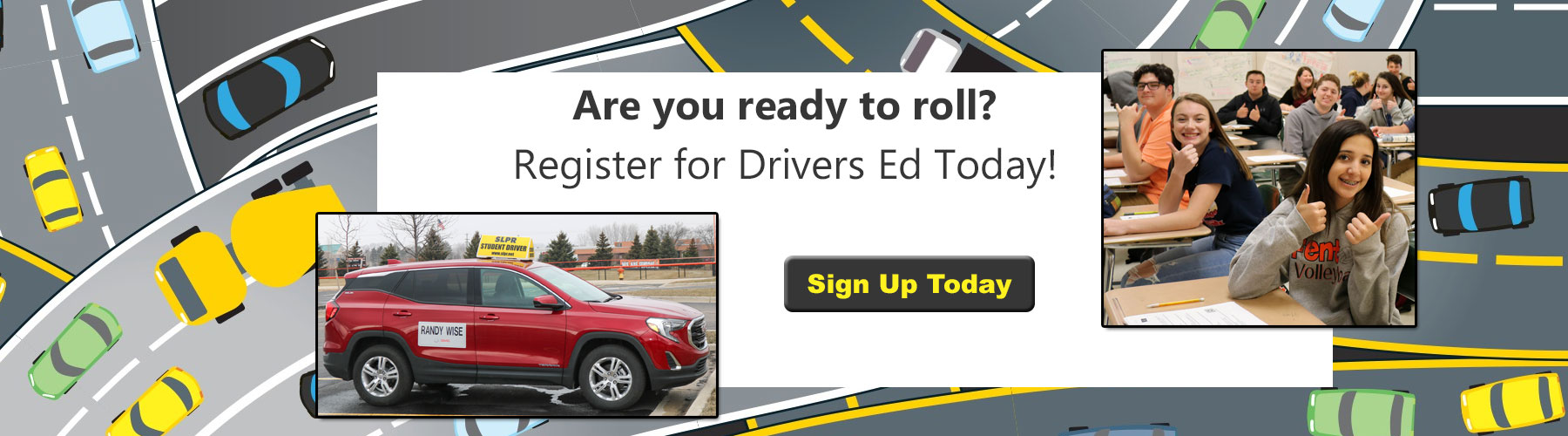 Sign Up for Drivers Education