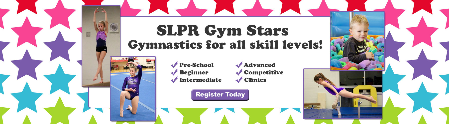 Gym Stars Gymnastics at SLPR
