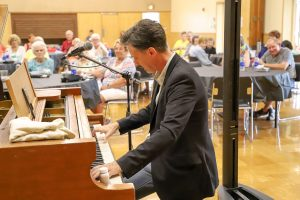 Ice Cream Social & the Boogie Woogie Piano Man