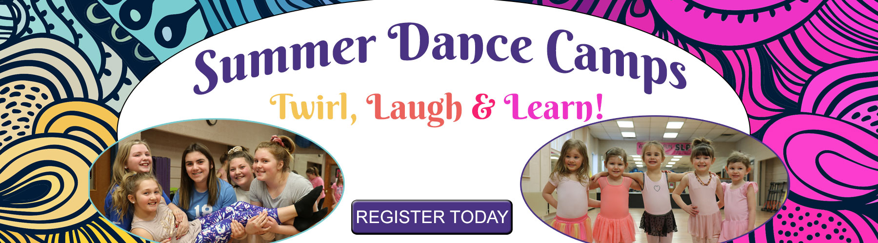 Sign Up for SLPR Summer Dance Camps