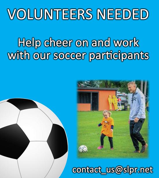 Soccer Volunteers Needed