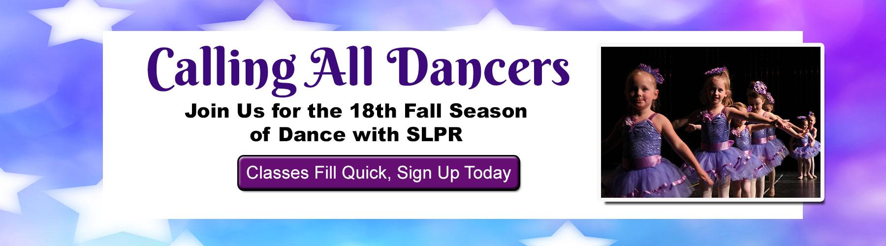 SLPR Fall Dance Programs